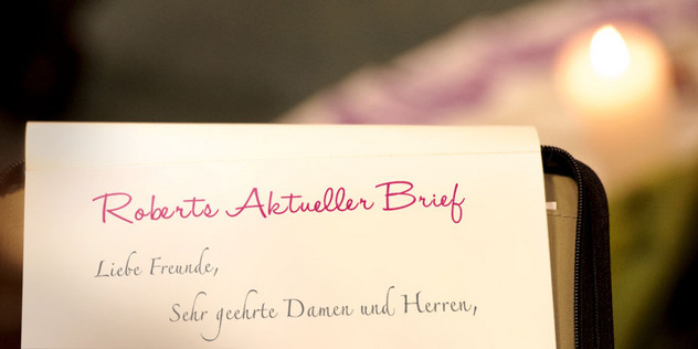 Aktueller Brief Von Robert Betz Robert Betz