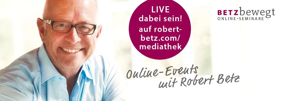 Live Online Events & Abendseminare : Robert Betz