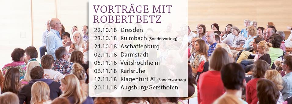 On Tour   Vorträge mit Robert Betz, alle Termine in der Übersicht